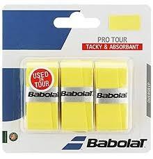 Babolat Pro Tour Overgrip Giallo (3x)