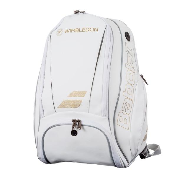 Babolat Backpack Pure Wimbledon Bianco Oro