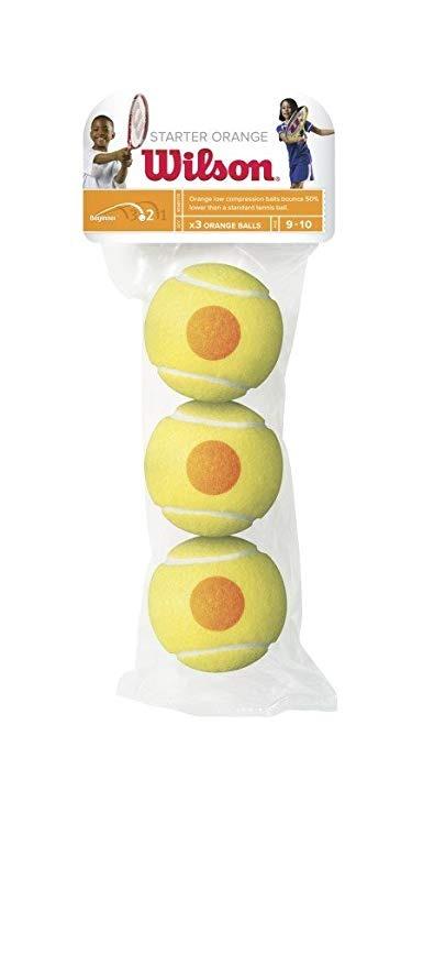 Wilson Starter Orange Balls (3x)