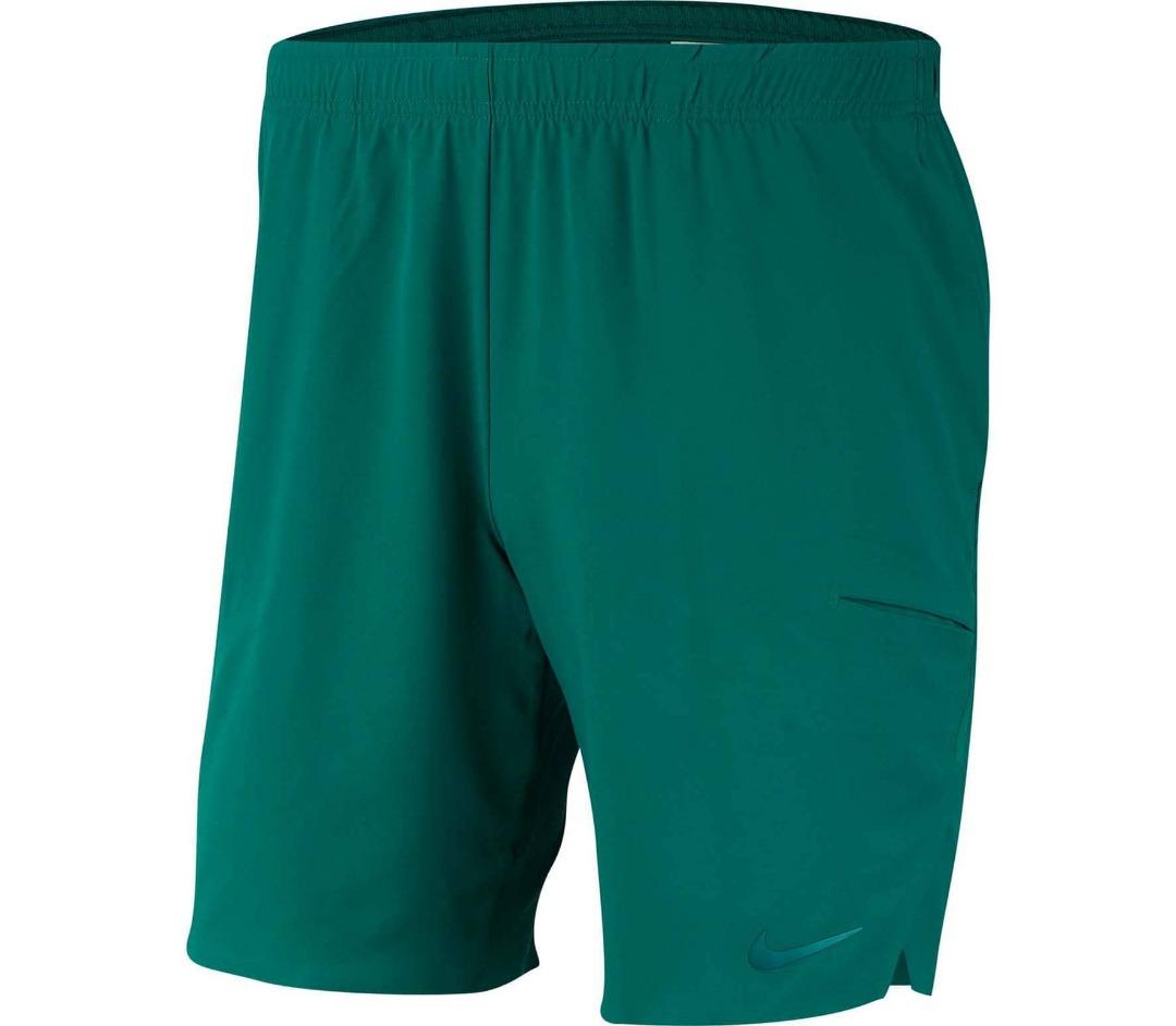 Nike Short Court Flex Ace Verde Uomo 1