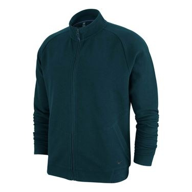 Nike Hoody RF Verde Scuro Uomo 1
