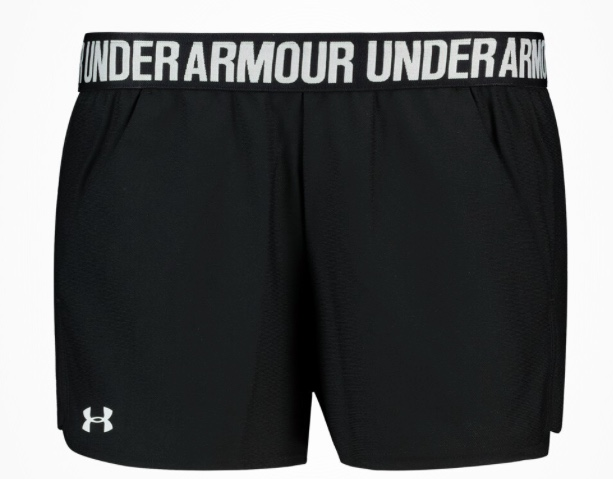 Under Armour Play Up 2.0 short Black  Donna