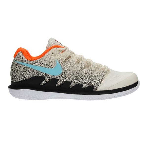 Nike Zoom Vapor X Clay Creme Clair-Nere-Acqua Blanchi Uomo