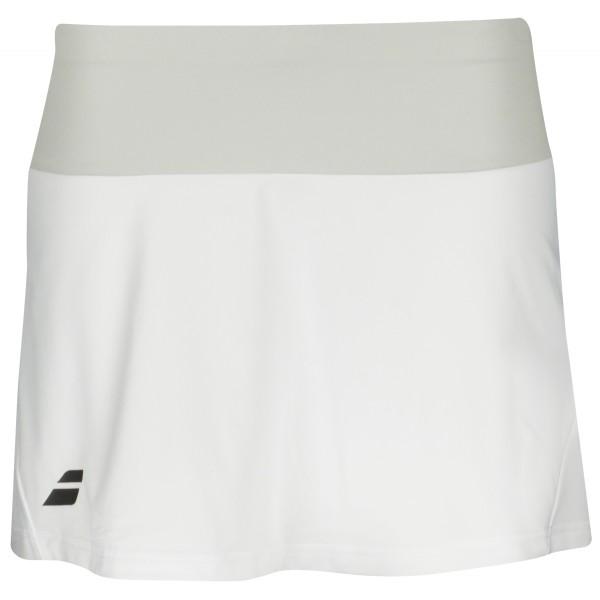 Babolat Perf Skirt 13 Bianco Donna
