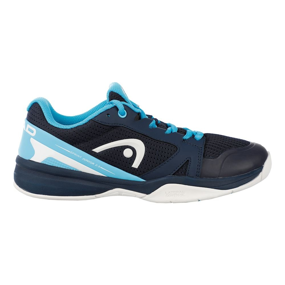 Head Sprint 2.5 Blu Scuro-Acqua Junior