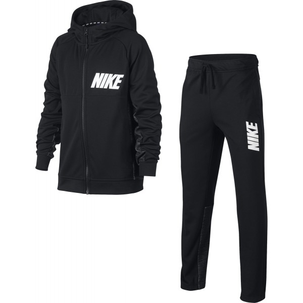 Nike Winter NSW Tracksuit Nero Bambino 1