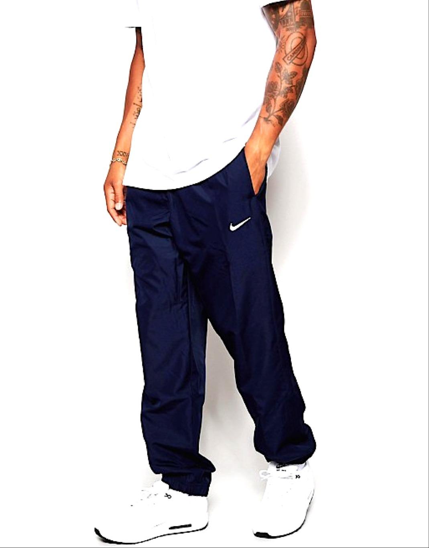 Nike Woven Pantaloni Navy-Blu Uomo