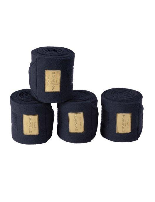 Eskadron Bandage Fleece Navy Striscia Oro