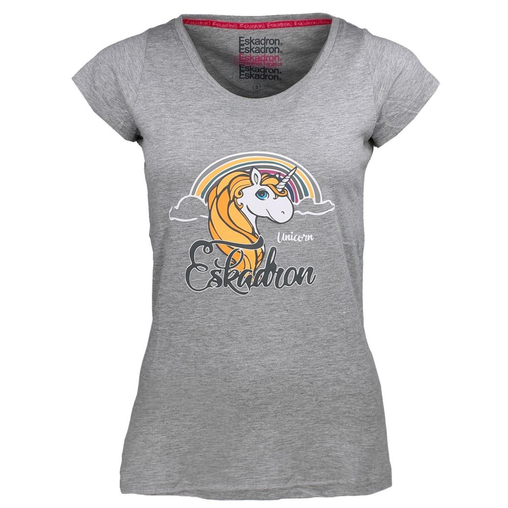 Eskadron T-Shirt Nala Unicorn grigio 1