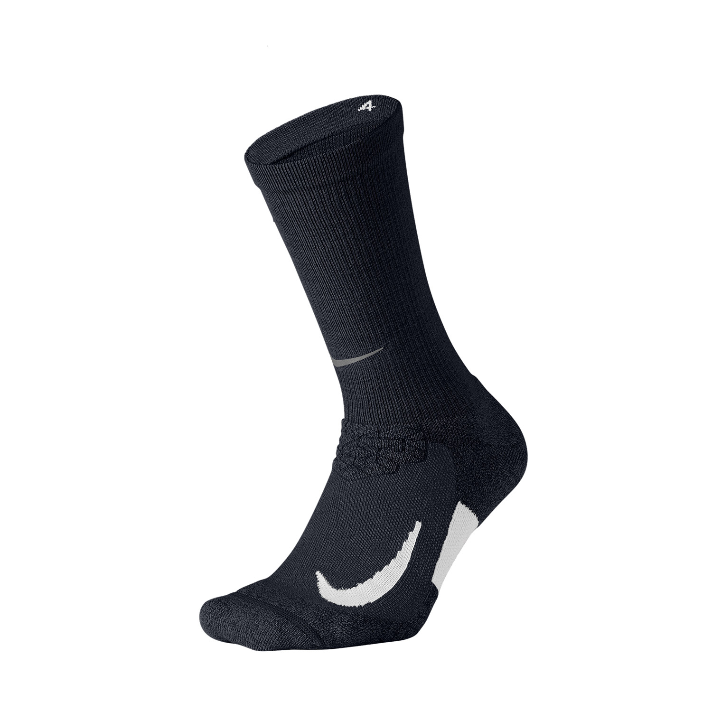 Nike Elite Cushioned Calze Nere-Bianche 1