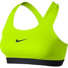 Nike Top Pro Classic Bra Giallo Donna 1