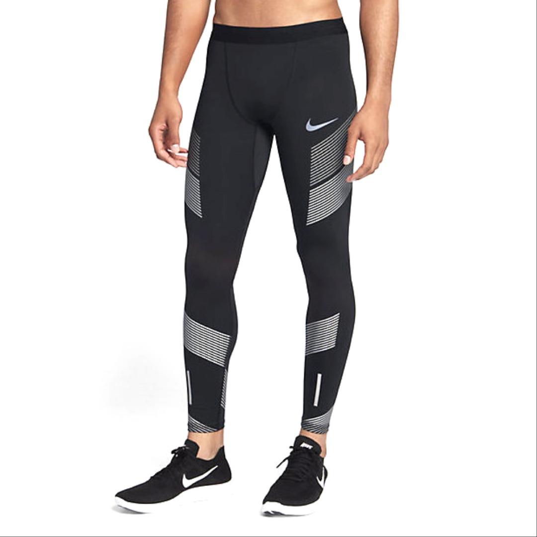 Nike Power Tech Tight Nero Uomo 1