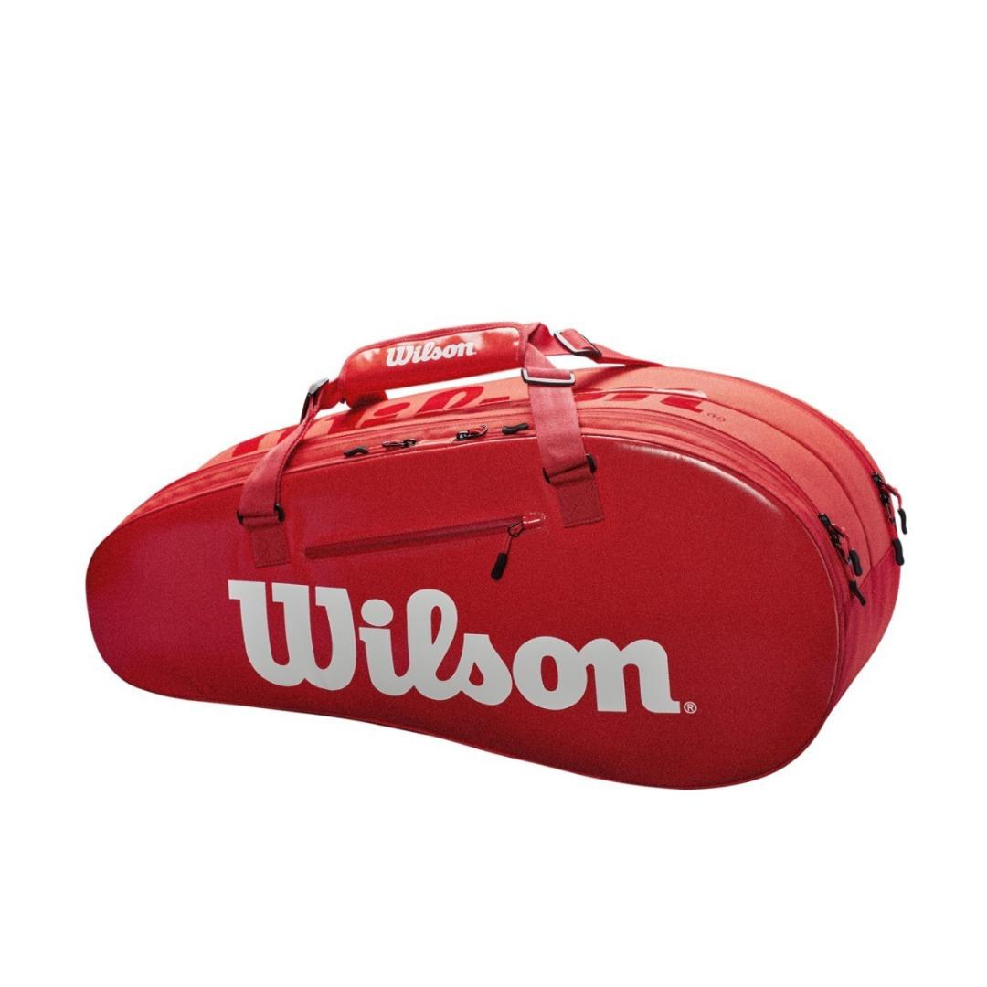 Wilson Super Tour 2 Comp Small Bag Rosso