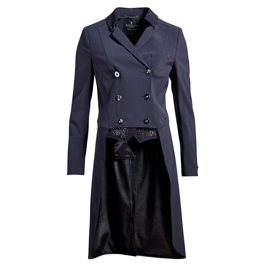 Kingsland  Devica Tail Coat Navy Donna 1