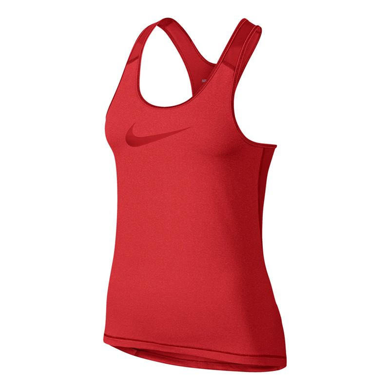 Nike Tank Summer Pro Cool Rosso Donna 1