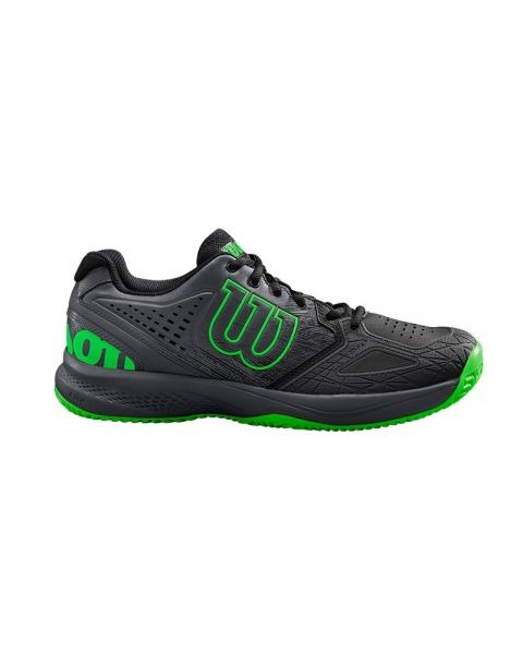 Wilson Kaos Comp 2.0 Black-Ebony-Green Uomo