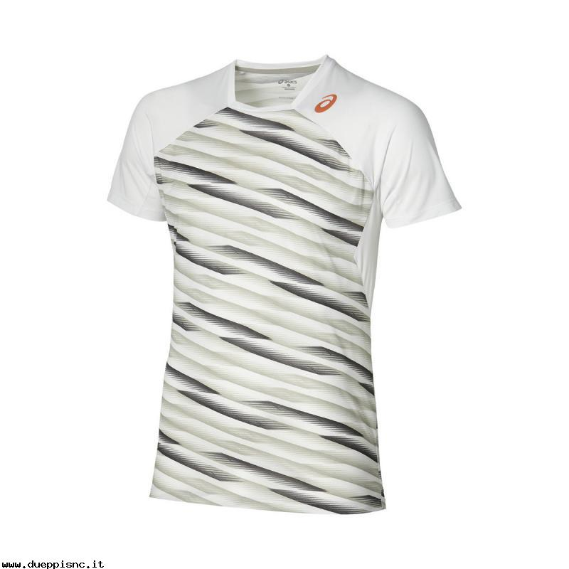 Asics Athlete SS Top Bianco Donna 1