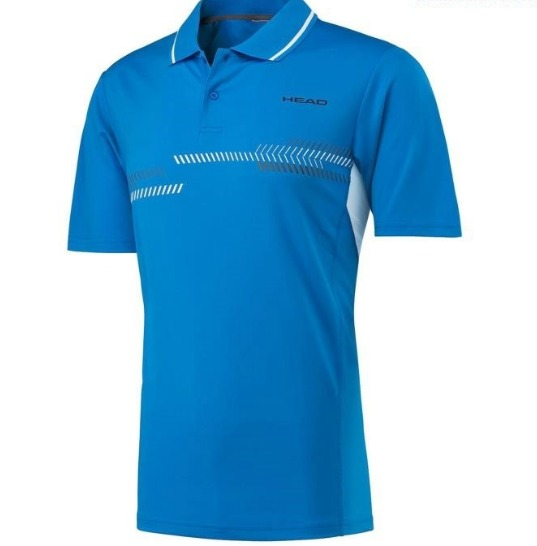 Head Club Technical Polo Blu Bambino 1