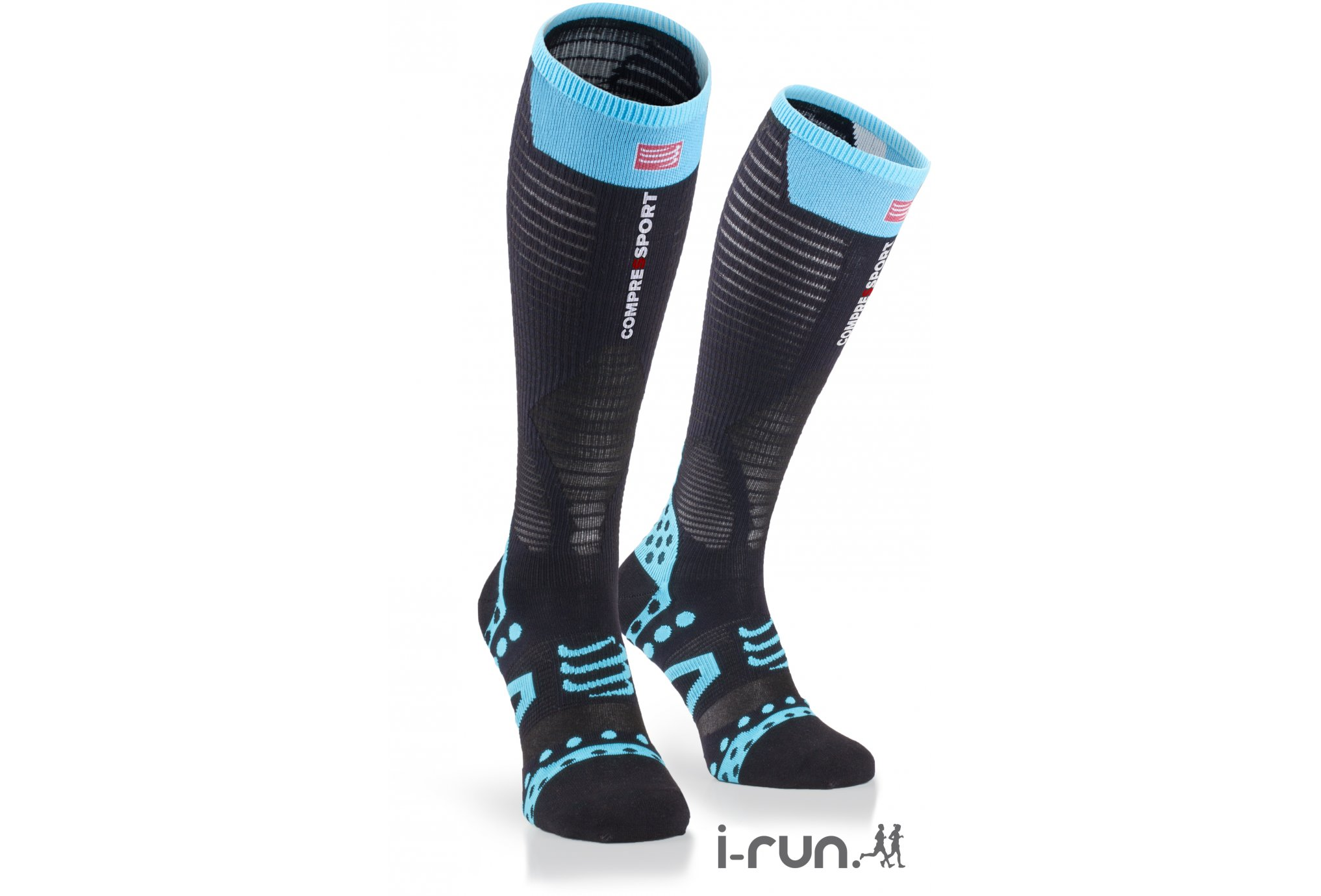 Compressport Full Racing Calze Ultra Light Nero