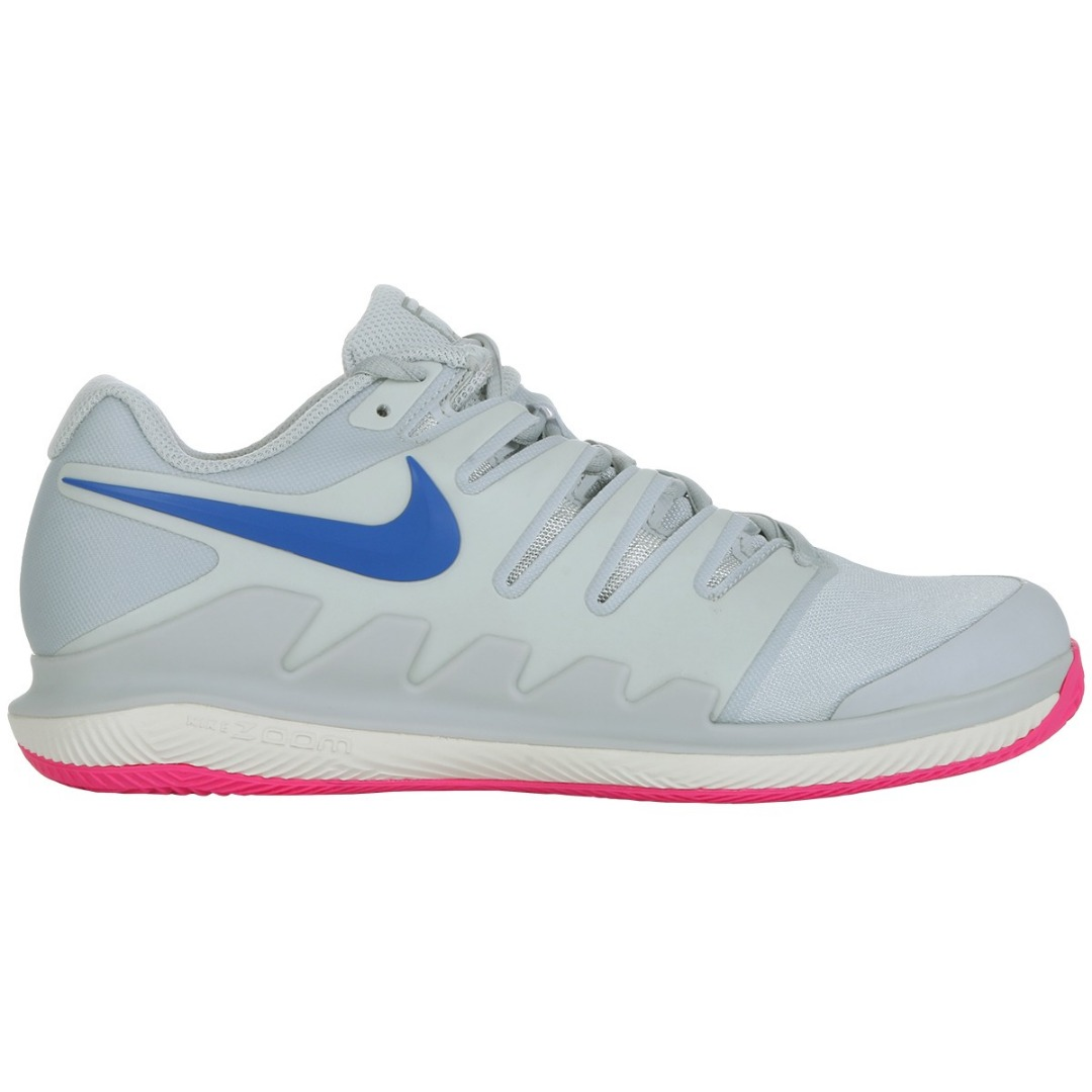 Nike Air Zoom Vapor X Clay Grigio-Rosa Donna