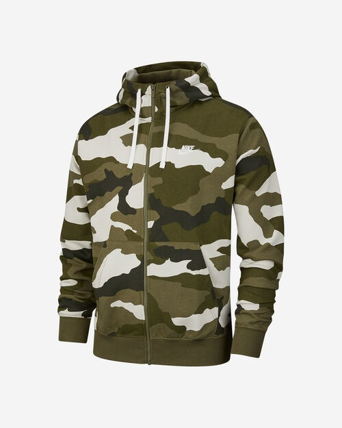 Nike Hoody Camo Verde Uomo 1
