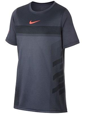 Nike Rafa Legend T-Shirt Grigio Bambino 1