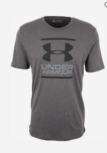 Under Armour UA GL Foundation SS T Grey Uomo 1