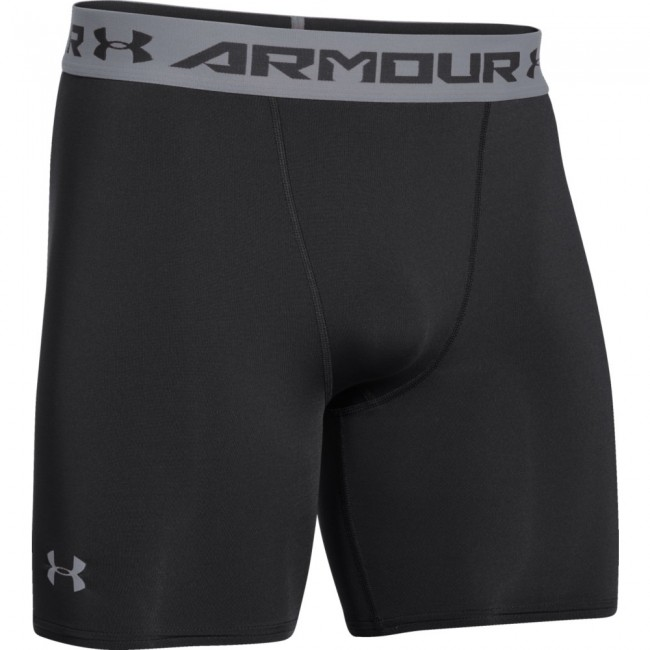 Under Armour Short Heatgear Comp Nero Uomo