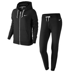 Winter Tracksuit Nero Donna 1