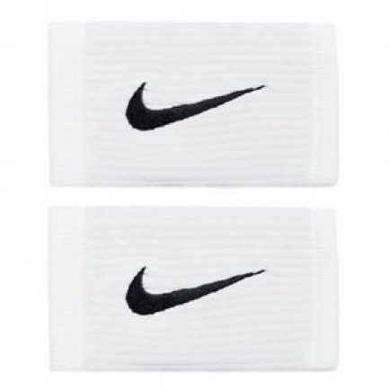 Nike Polsini Jumbo Dry-Fit Bianchi (2x) 1
