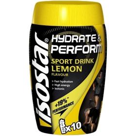 Isostar Hydrate & Perform Sport Drink Lemon 400g