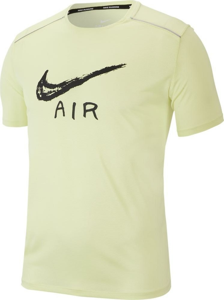Nike T-Shirt Cool Miler Graphic Green Uomo