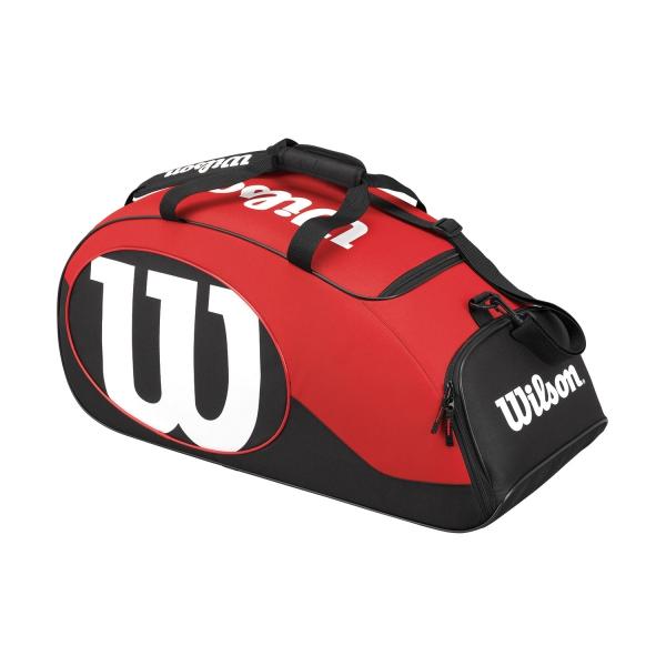 Wilson Match II Duffel Bag Nera-Rossa