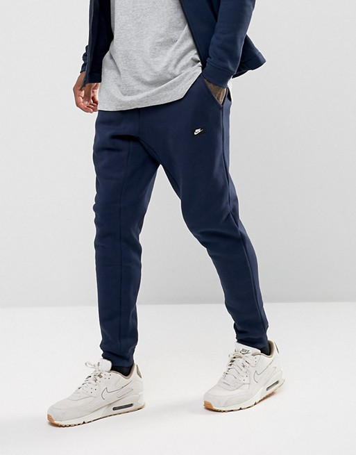 Nike Jogger in fleece Navy Uomo
