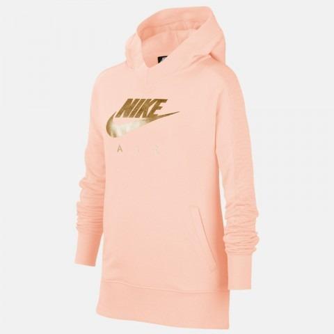 Nike Hoodie Air Po Gx Rosa-Gold Bambina 1