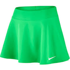 Nike Short Pure Flouncy Verde Donna 1