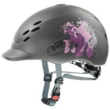 Uvex Casco Onyx Friends antracite Junior