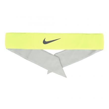Nike Bandana Gialla logo nero