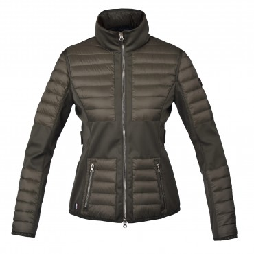 Kingsland Maroon Ladies Insulated Jacket Donna