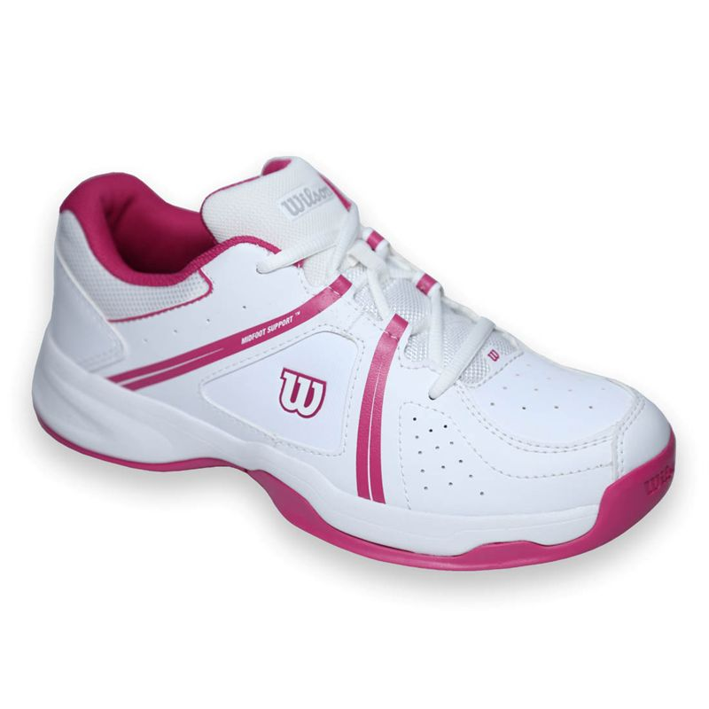 Wilson Envy Bianco-Pink Junior 1