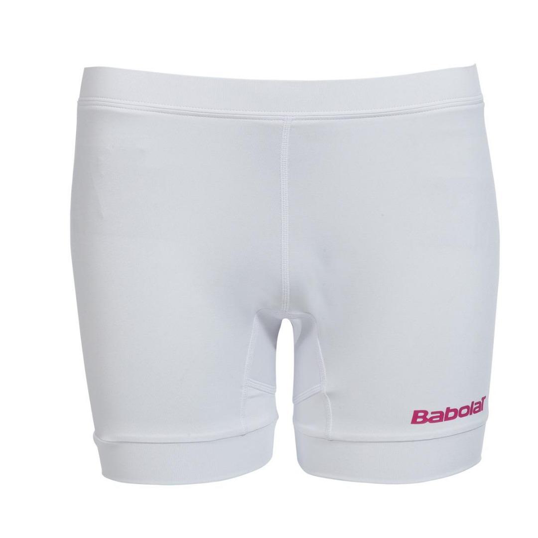 Babolat Shorty Match Perf Bianco Bambina 1