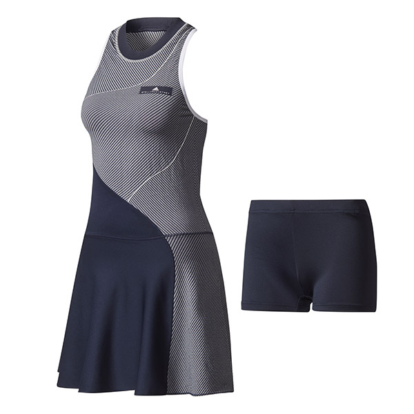 Adidas Stella Mc Cartney Barricade US Open Dress Navy Donna 1