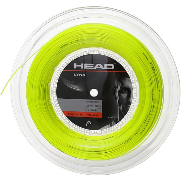 Head Lynx Giallo 1.25 mm 12 m