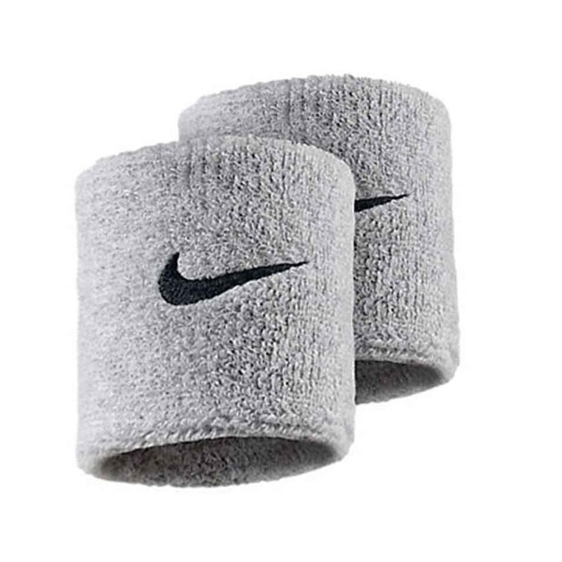 Nike Polsini Grigio Logo Nero (2x) 1