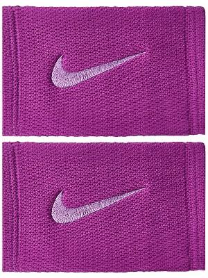 Nike Polsini Nike Dri-Fit Stealth Doublewide wristbands viola