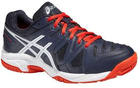 Asics Gel-Game 5 GS Navy-Rosso Junior