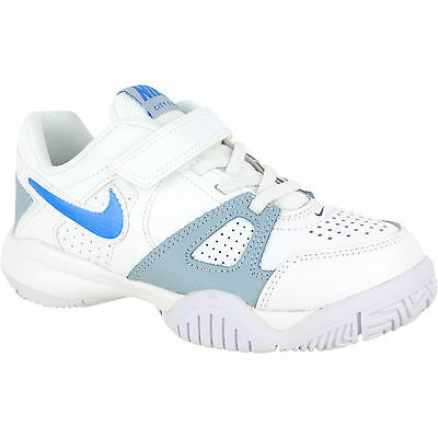Nike City Court 7 Bianco-Blu Junior 1