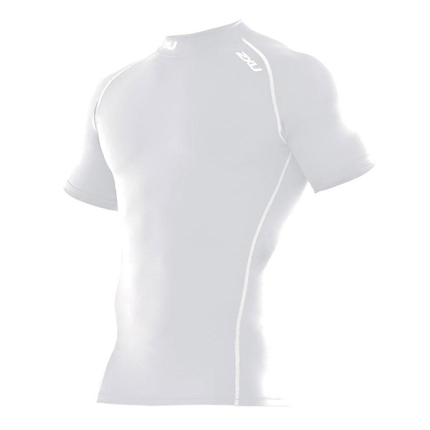2XU Compression SS Top Bianco Donna