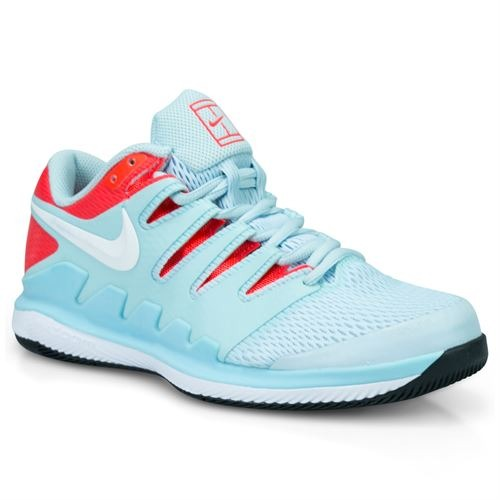 Nike Air Zoom Vapor X HC Still Blue - White Donna