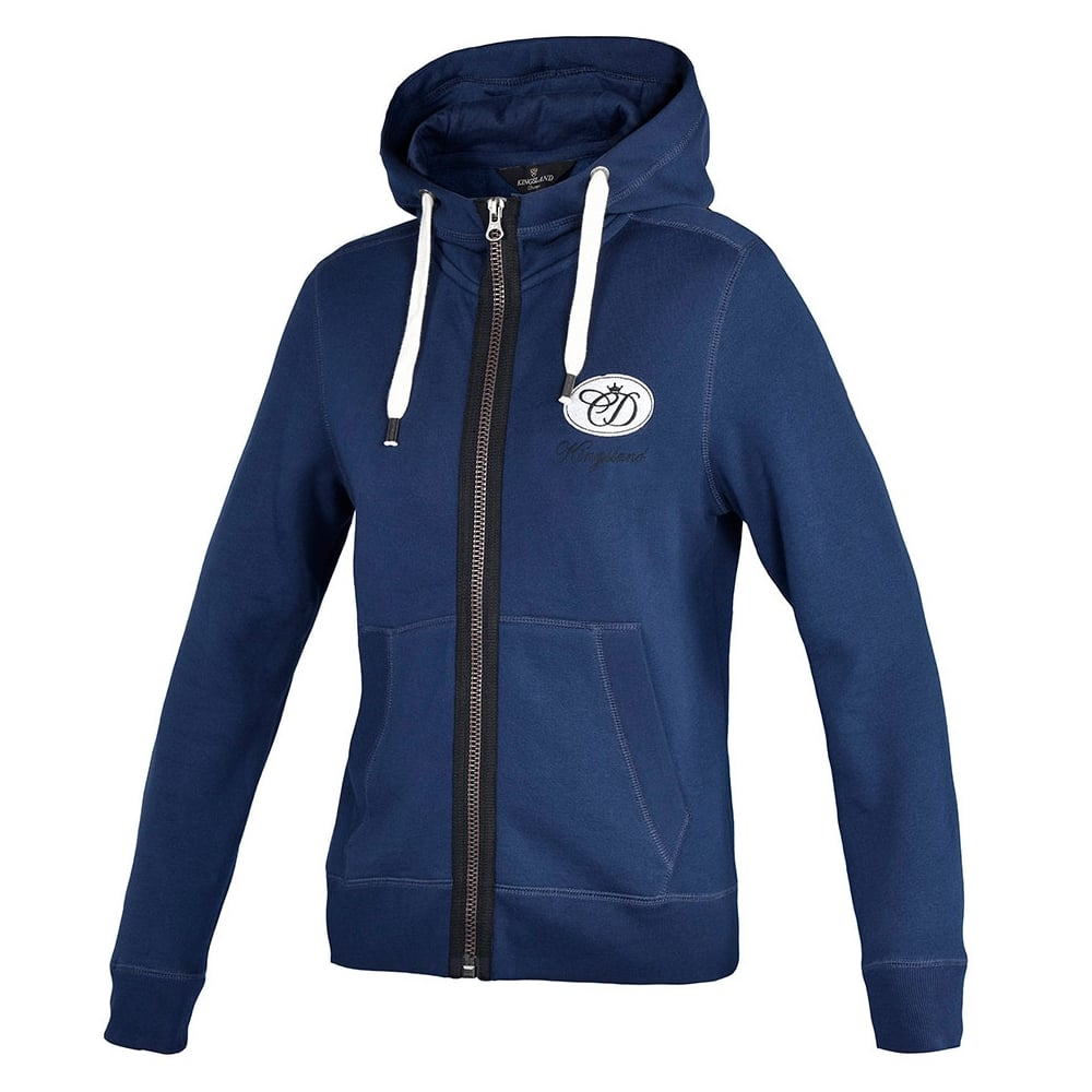 Kingsland CD Armadle Sweat Jacket Hood Blu Depths Donna